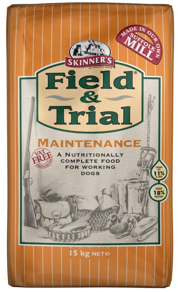 15 kilo bag of Field & Trial Maintenance Working Dog Food