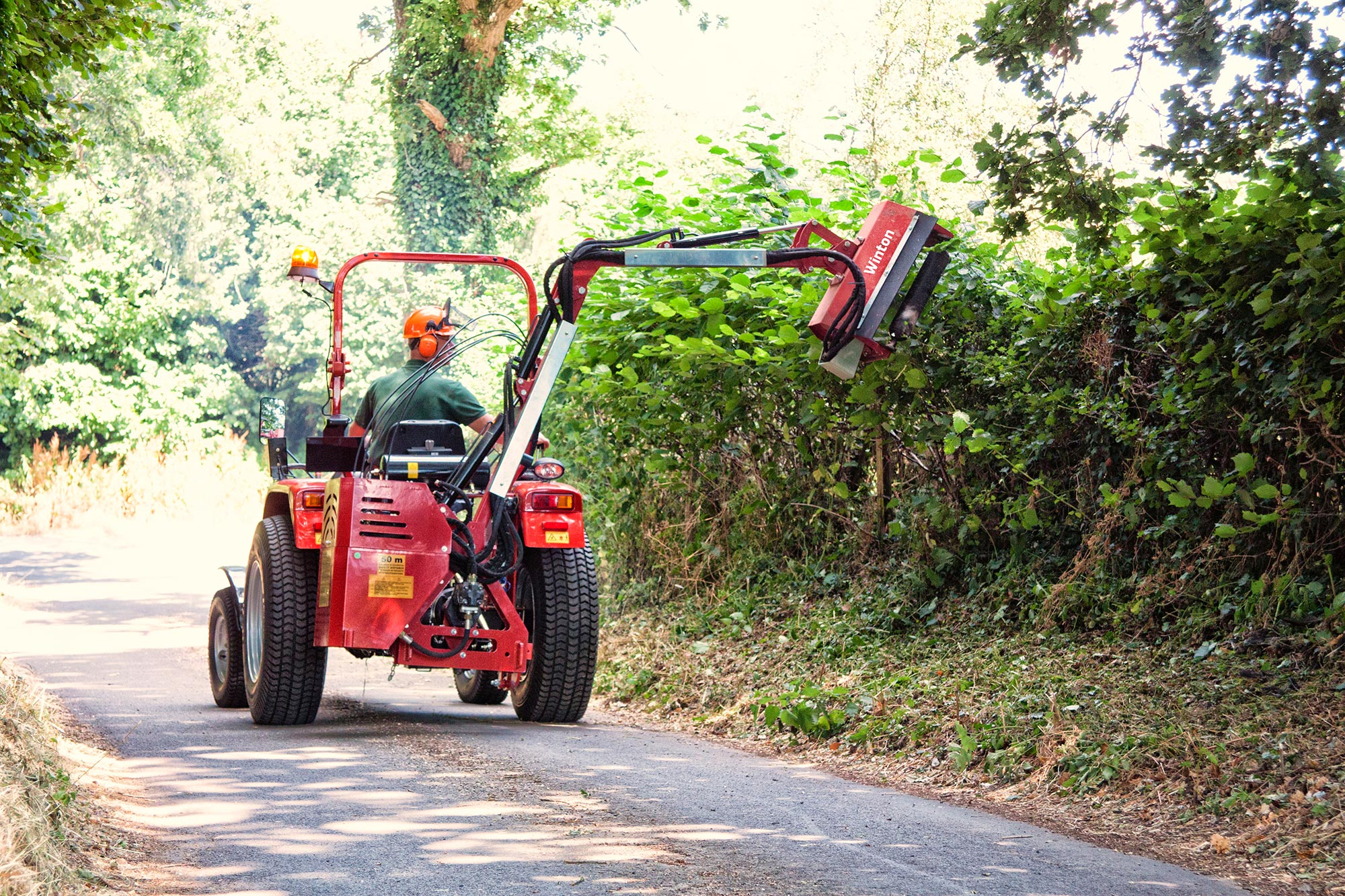 Picture of Flail Hedge Cutter