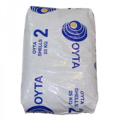 25 kilo bag of OYTA Oyster Shell Grit